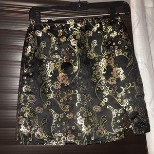 Brandy oriental skirt